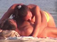 Heimlich gefilmter Fick am Strand